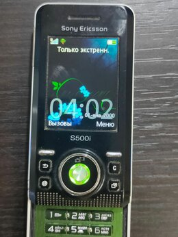 Мобильные телефоны - Sony Ericsson s500i, 0