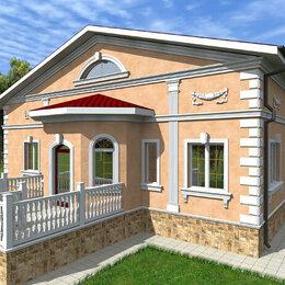 Архитектура, строительство и ремонт - дизайн проект фасада , 0