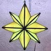 Ночник Вифлеемская звезда из витражного стекла по цене 15000₽ - Настенно-потолочные светильники, фото 1