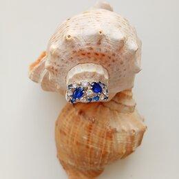 Кольца и перстни - Серебряное кольцо с камнями, 0