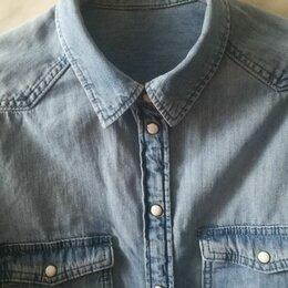 Блузки и кофточки - Джинсовая рубашка h&m, 0