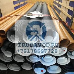 Водопроводные трубы и фитинги - Труба SN8 OD 110 гофрированная  ливневка, 0