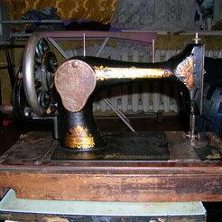 Швейные машины - Швейная машина фирмы Зингер 1908г., 0