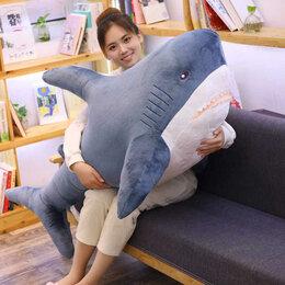 Мягкие игрушки - Мягкая игрушка Акула 140 см, 0