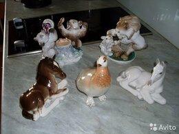 Статуэтки и фигурки - Фарфоровые статуэтки. Птицы,Звери.лфз. 50 -70 годы, 0
