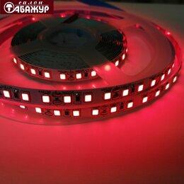 Светодиодные ленты - Светодиодная лента 12V 120LED 9,6W красная, 0