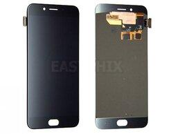 Мобильные телефоны - Дисплей Oppo R9S с тачскрином (черный), 0