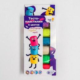 Лепка - Тесто-пластилин 6 цветов TA1090, 0