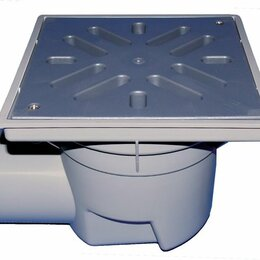 Бра и настенные светильники - HL605L/1 Дворовй трап DN110 с горизонтальным выпуском, ПП решеткой, незамерзающи, 0