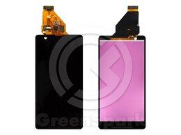 Дисплеи и тачскрины - Дисплей для Sony Xperia ZR C5502/C5503 +тач черны, 0
