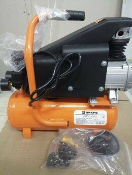 Воздушные компрессоры - Компрессор масляный вихрь кмп-210/10, 0