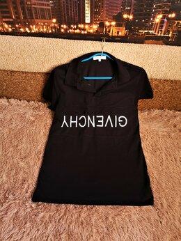 Футболки и майки - GIVENCHY футболка- поло мужская 46-48 размер, 0