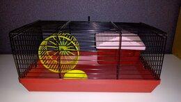 Клетки и домики  - Новая клетка для хомячка джунгарика или мышки, 0