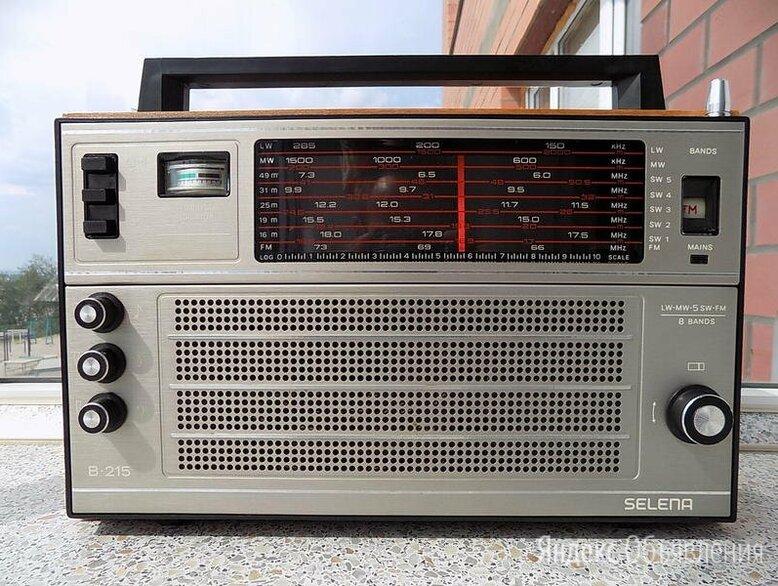 Новый радиоприёмник Selena B - 215 (экспортная модель) по цене 7000₽ - Радиоприемники, фото 0