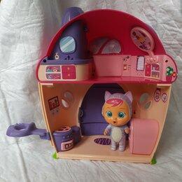 Аксессуары для кукол - Игровой куколный домик с малышом Crybaby, 0