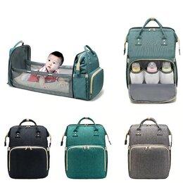 Вещи - Сумка-Рюкзак для мам с термо-карманом и люлькой, 0