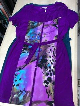 Платья - Платье цвета фуксия 56-58 размер., 0