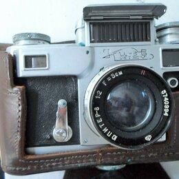 Фотоаппараты - Ретро-пленочные фотокамеры,СССР, 0