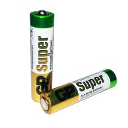 Батарейки - Батарейка GP AAA мизинчиковая 24A LR03/286, 0