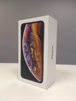 Мобильные телефоны - iPhone Xs 256gb gold (A2097) Ростест, 0