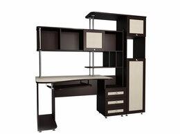 Компьютерные и письменные столы - Компьютерный стол Мебелайн-17 (системный блок…, 0