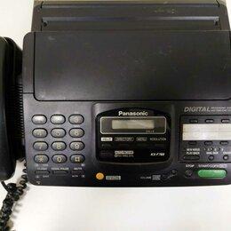 Системные телефоны - Факс Panasonic KX-F780BX, 0