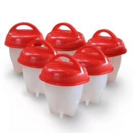 Контейнеры и ланч-боксы - Набор контейнеров для варки яиц без скорлупы 6 штук 3572090, 0