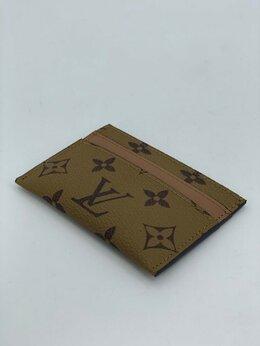 Визитницы и кредитницы - Визитница Louis Vuitton кожаная мужская/женская…, 0