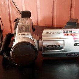 Видеокамеры - Продам видеокамеру п-во Япония, адаптер , касеты , сумка на плечо. , 0