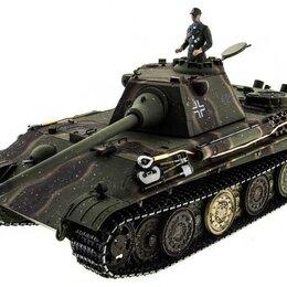 Радиоуправляемые игрушки - Р/У танк Taigen 1/16 Panther type F (Германия) HC версия, башня на 360, подшипни, 0