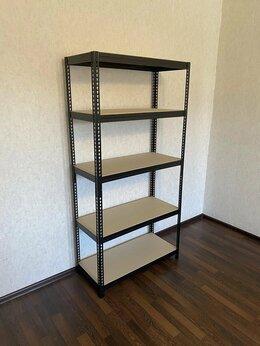 Стеллажи и этажерки - Стеллаж металлический безболтовой (170 кг на…, 0
