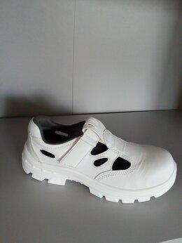 Сандалии - сандалии белые с термопл. подноском опт, 0