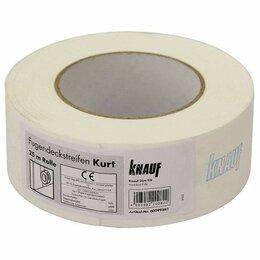 Окна - Лента армирующая Knauf Курт бумажная 25 м, 0