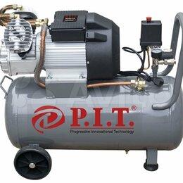 Воздушные компрессоры - Компрессор P.I.T 2,5 кВт. 50 л. 450 л/мин., 0