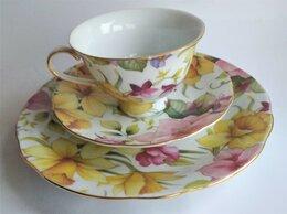 Кружки, блюдца и пары - Чайный коллекционный фарфоровый набор , 0