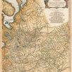 Гравированная кабинетная карта 1758 года России и северных стран S6710 по цене 220000₽ - Гравюры, литографии, карты, фото 3