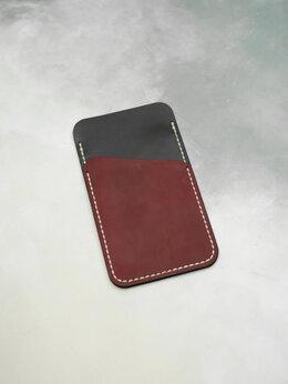 Чехлы - Чехол для телефона с отделом для карт. Шью из кожи, 0