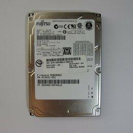 "Внутренние жесткие диски - Жесткий диск ноутбука SATA 2,5"" HDD FUJITSU 60Gb MHV2060BH, 0"