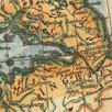 Гравированная кабинетная карта 1758 года России и северных стран S6710 по цене 220000₽ - Гравюры, литографии, карты, фото 5