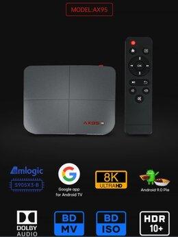 ТВ-приставки и медиаплееры - ТВ приставка AX95 Новый для всего, 0