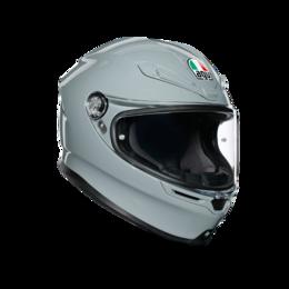 Мотоэкипировка - Шлем интеграл AGV K - 6 MONO Nardo Gray, 0