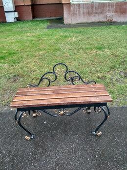 Скамейки - Скамейка садовая (парковая) кованая СкФс, 0