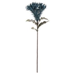 """Искусственные растения - Цветок из фоамирана 89 см """"Лилия голубая"""", 0"""