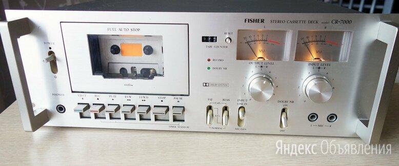 Fisher CR-7000 - Кассетная дека по цене 17500₽ - Музыкальные центры,  магнитофоны, магнитолы, фото 0