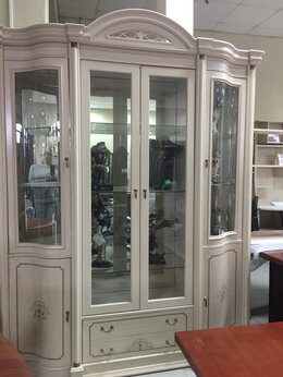 Шкафы, стенки, гарнитуры - Витрина для гостиной Дарсо, 0