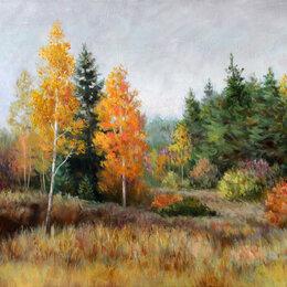Картины, постеры, гобелены, панно - Картины маслом. Осенние пейзажи. , 0
