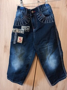 Джинсы - джинсы на мальчика 3-4 года, 0
