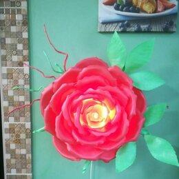 Настенно-потолочные светильники - Бра роза, ночник, настенный светильник, 0