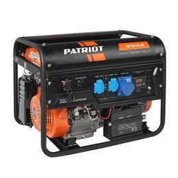 Электрогенераторы - Генератор бензиновый Patriot GP 8210AE, 0