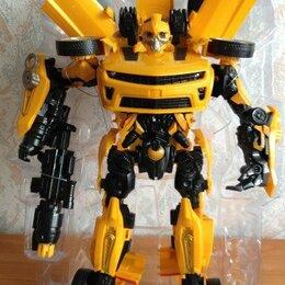 Роботы и трансформеры - Робот БАМБЛБИ большой 42 см, 0